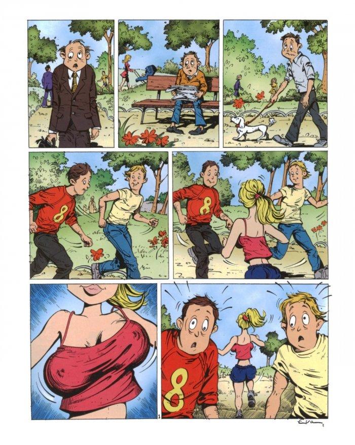 Эротические комиксы.
