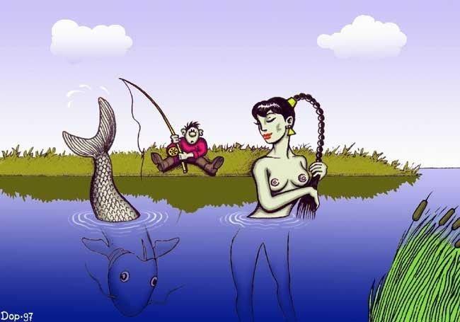 ералаш про рыбалку доедай червей и пошли домой