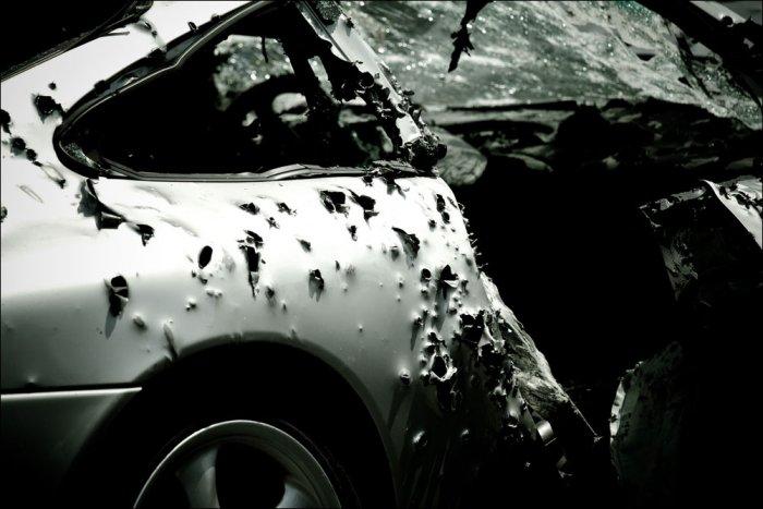 обстрел автомобилей в Магнитогорске