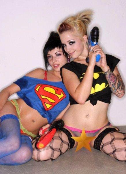 Супергероини (61 фото)