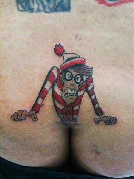 Самые Ужасные Татуировки На Интимных Местах