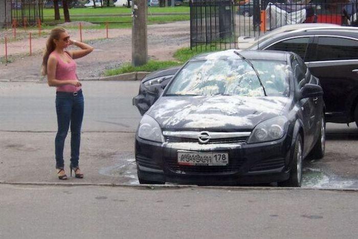 Как сделать подлость соседу с машиной - Leksco.ru