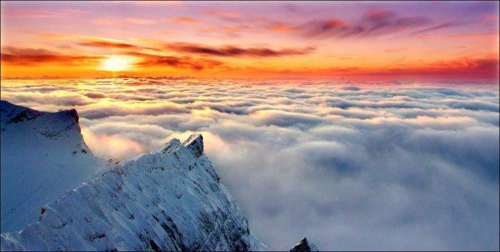 Как сделать небо на фото красивым