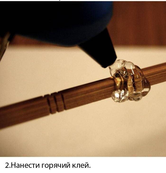 Как сделать настоящую волшебную палочку своими руками настоящую 89