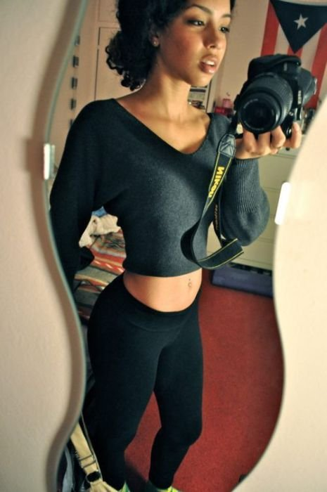 Темнокожие красотки (50 фото)