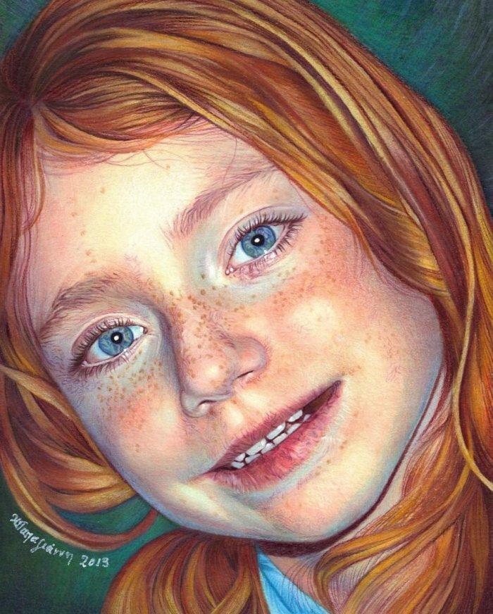 Не цветные рисунки портреты