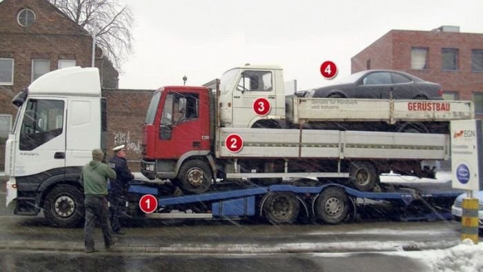 Автомобильные приколы (60 фото)