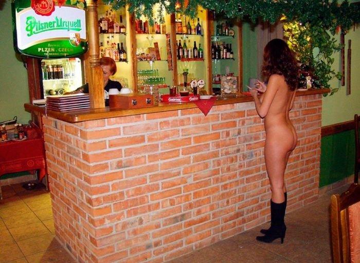 Официантка в чехии порно