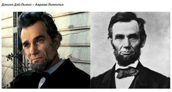 Исторические личности и актёры игравшие их в фильмах (19 фото) .
