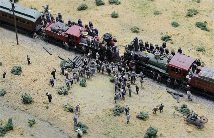 Модели железной дороги