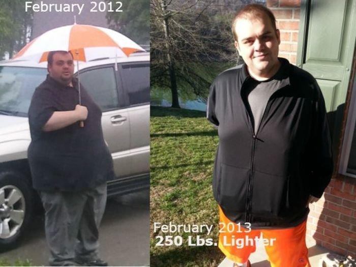 Сбросили 238 килограмм на двоих.