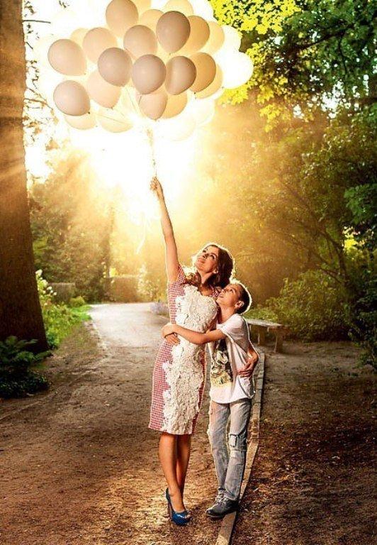 Идеи для фото сына и мамы