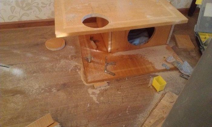 Как сделать домик для себя своими руками в квартире