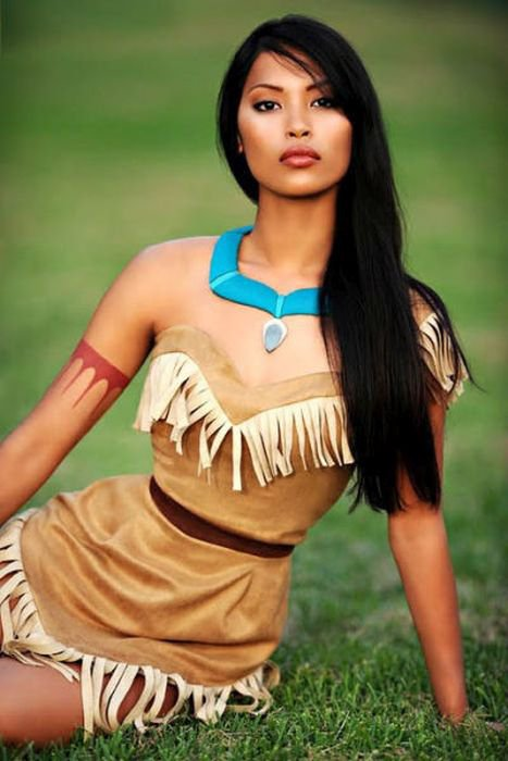 Голые женщины индейцы