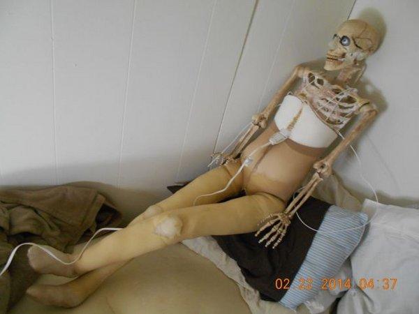 Самодельная кукла для секса