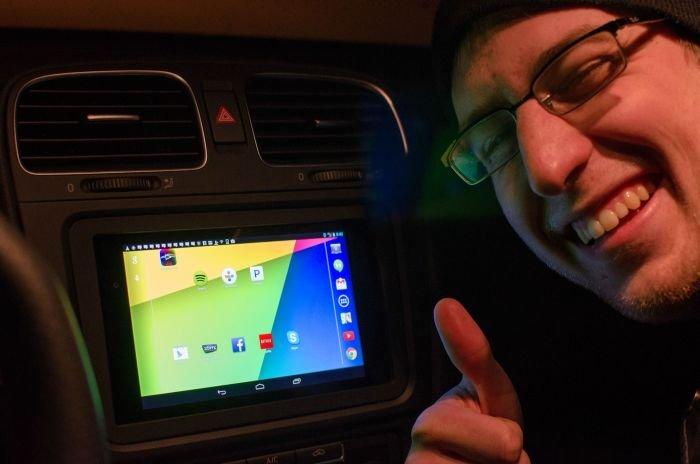 Бортовой компьютер из планшета на андроиде своими руками 22