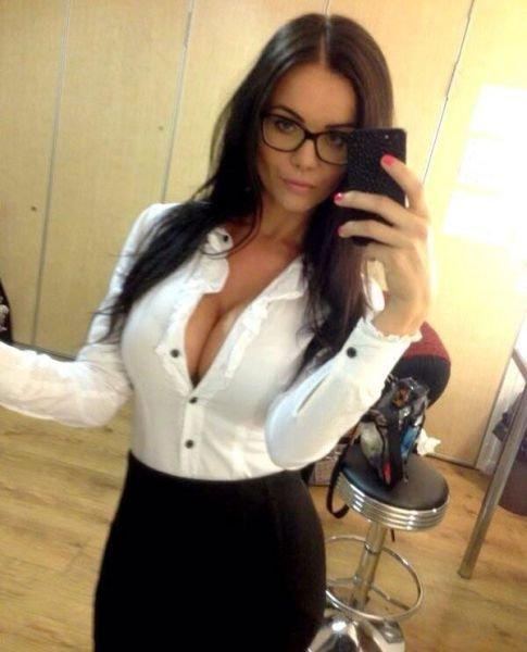 Секси дамы в очках