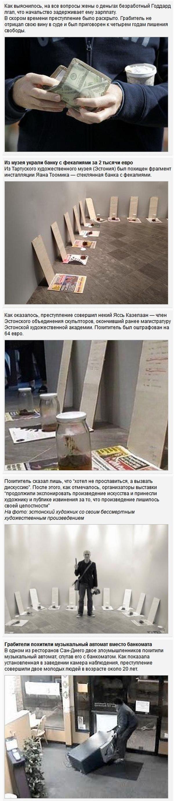 Необычные правонарушения 2013 года(7 фото)