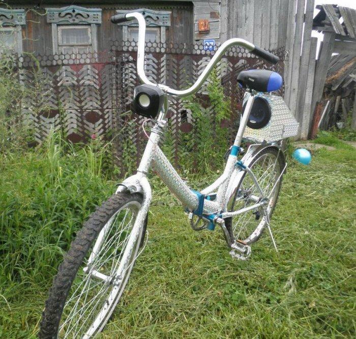 Велосипедный тюнинг своими руками