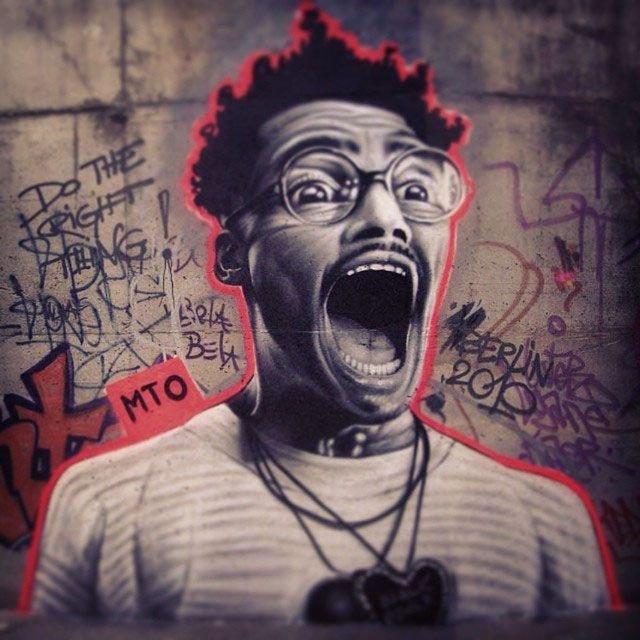Реалистичные граффити (15 фото)