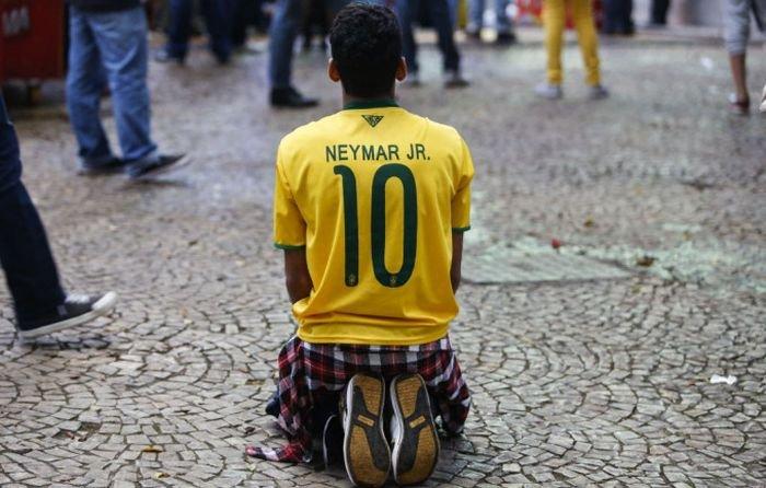 Эмоции бразильских болельщиков(40 фото)