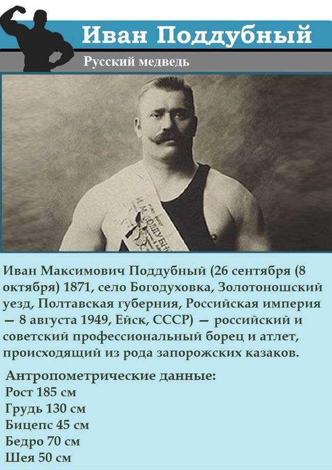 Биография Ивана Поддубного (17 фото)