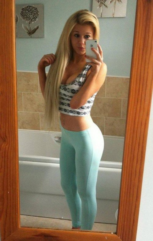 Girls in tight pants (38 photos)
