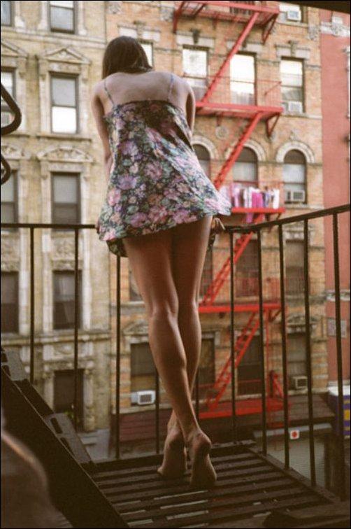 Красивые длинные ноги девушек