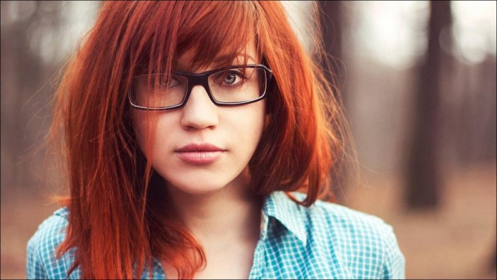Фото девушек с рыжими волосами фото