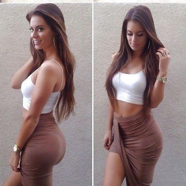 девушка с идеальными формами