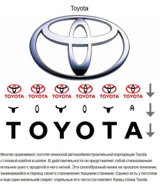 Тайный смысл известных логотипов (16 фото)