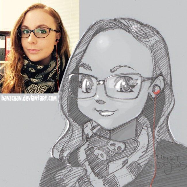Кто рисует фото в стиле аниме