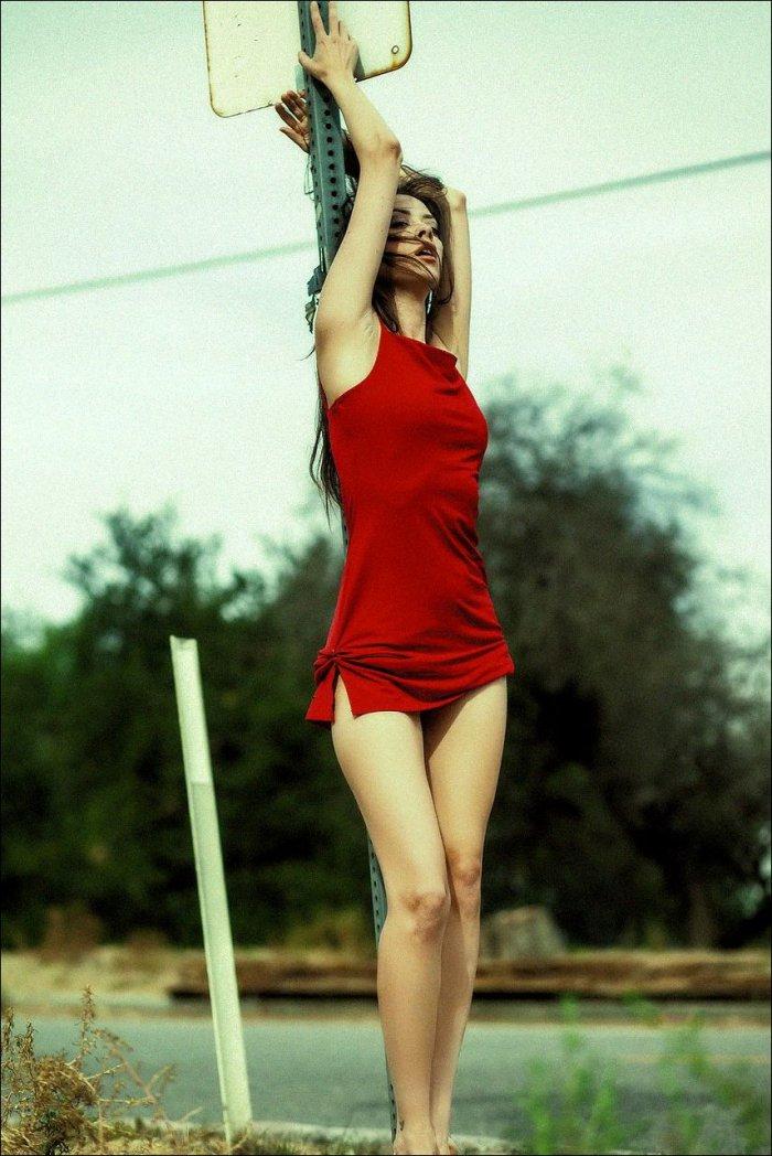 Фото стройными девушки красивые с ногами