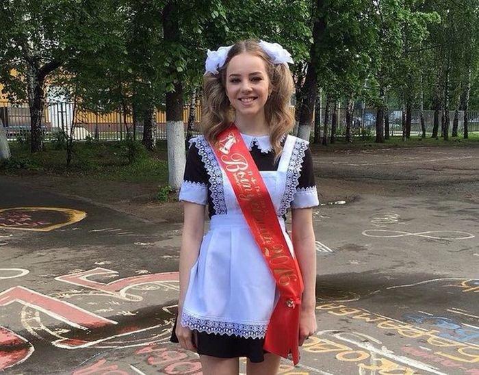 девушки фото на выпускном