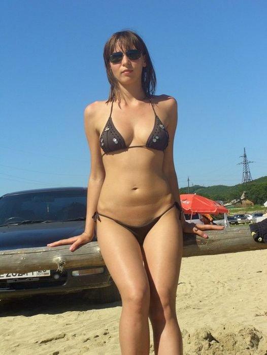 купальниках интим частные фото девушек в
