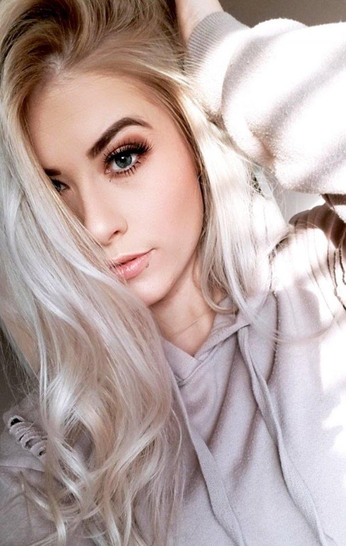 блондинки домашняя фотосессия