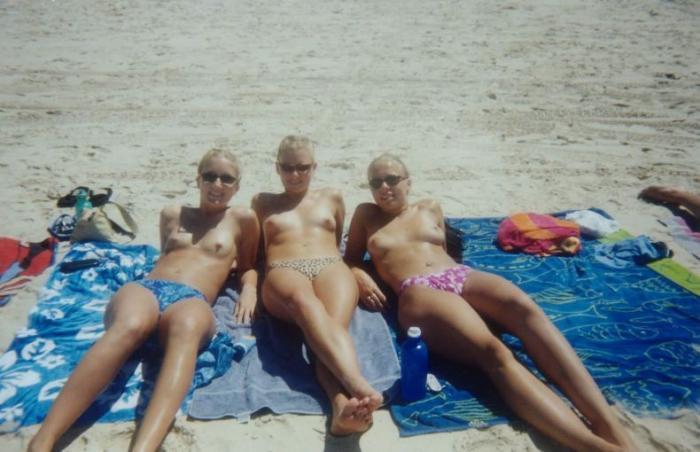 любительское фото с пляжей