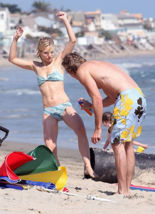 Celebrity Beach Photos. practically having sex while wearing a skimpy