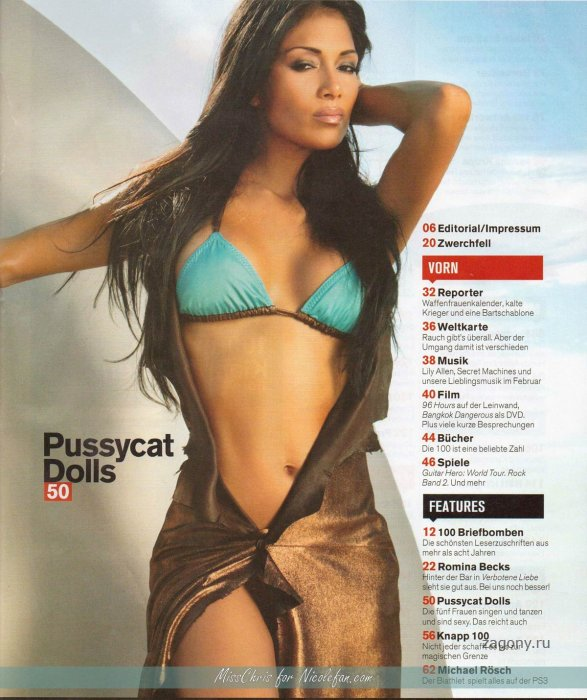 Pussycat Dolls - FHM (6 фото)