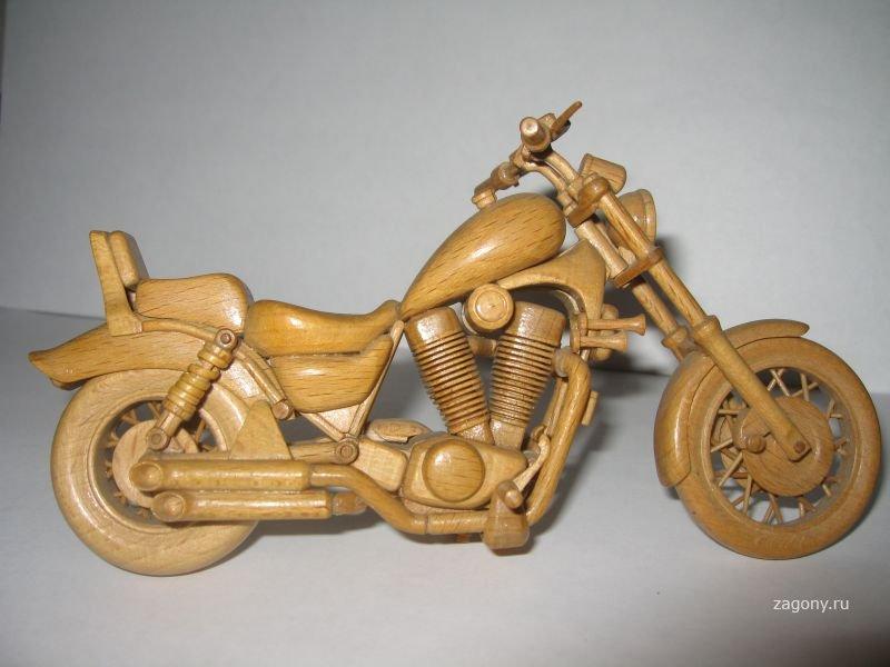 Как сделать мотоцикла из дерева своими руками мотоцикла