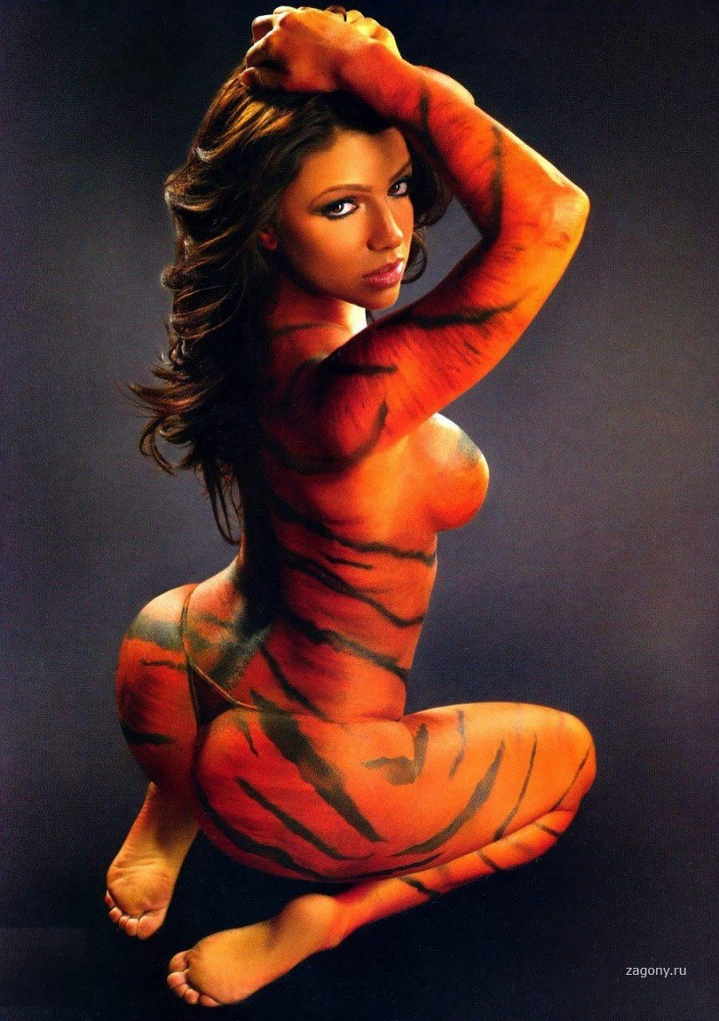Тигр на попе порно 3 фотография