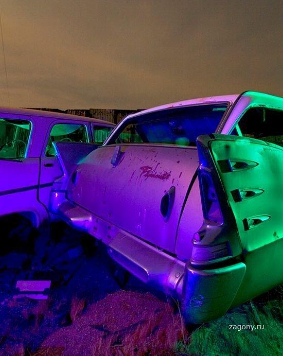 Брошенное авто в США (10 фото…