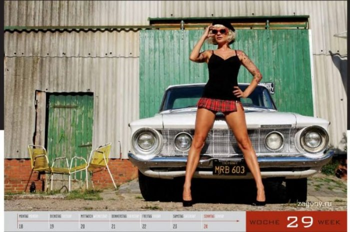 ��������� ��������� Girls&legendary us-cars 2011 (27 ����)