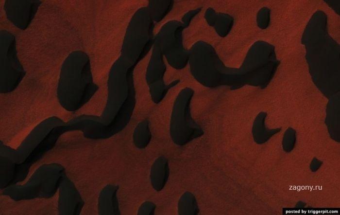 Сокровища Марса, хоть и скрытые от человеческого глаза, но