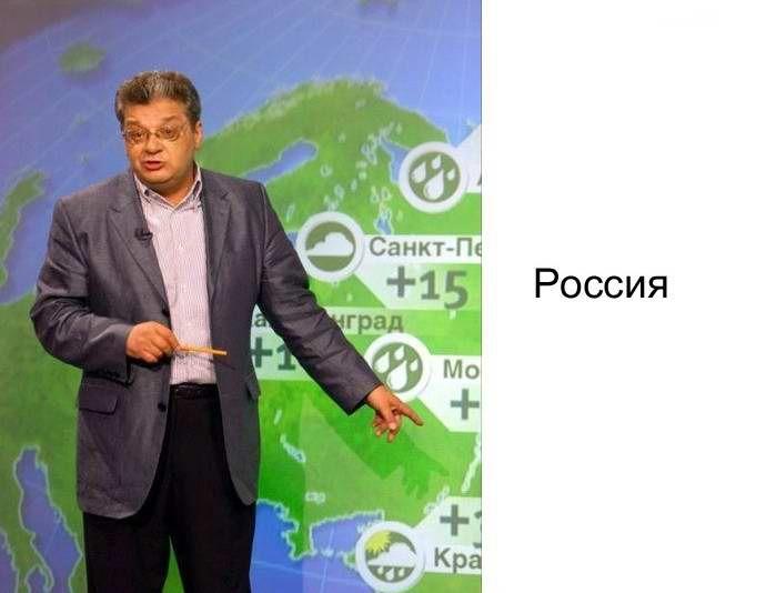 Почему я смотрю прогноз погоды в интернете, а не по телевизору.