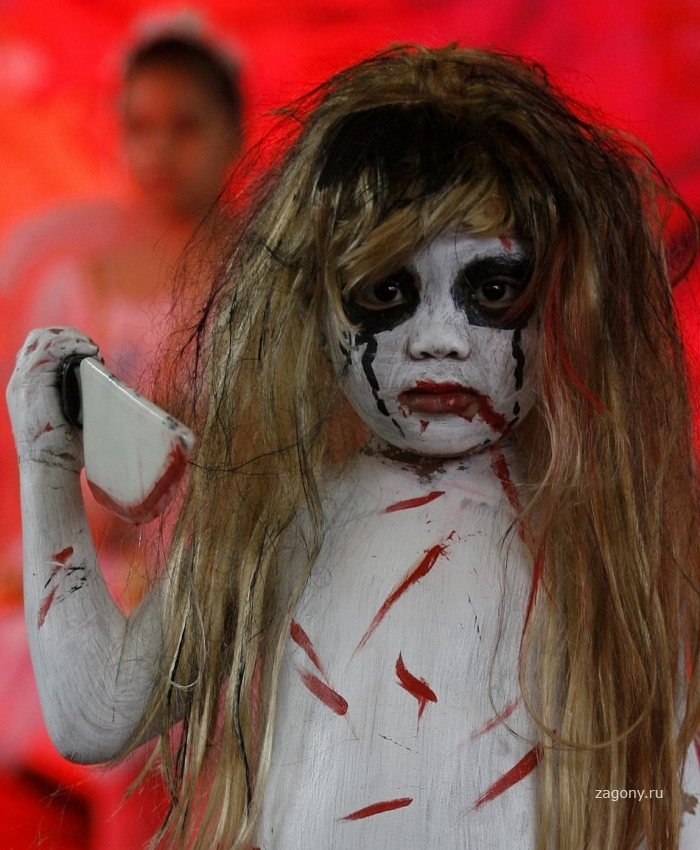Страшные костюмы 5