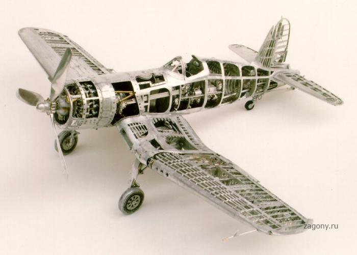 Модели самолетов из металла своими руками