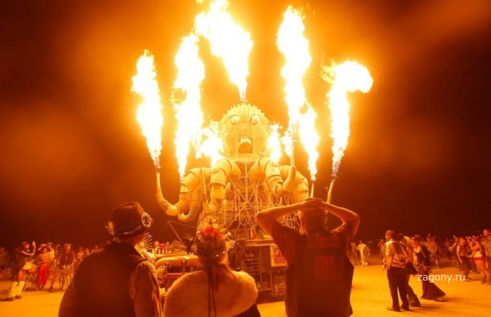 Фестиваль «Burning Man 2012» (30 фото)
