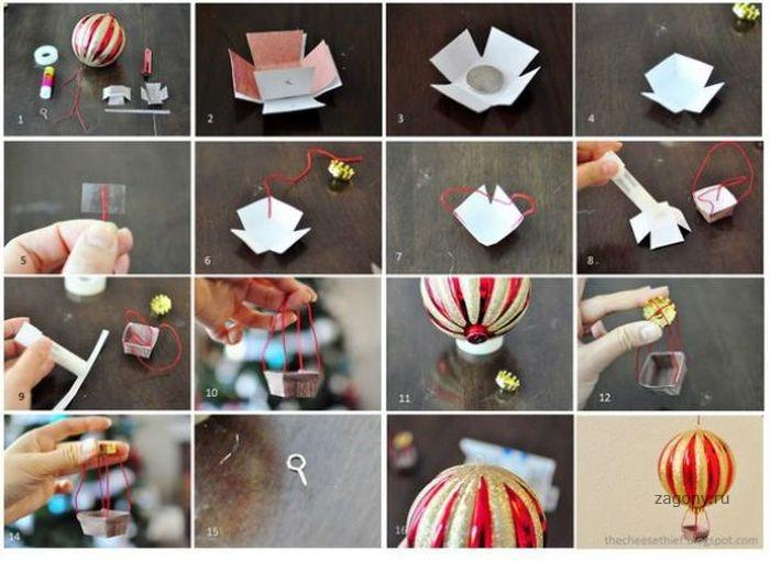 Мастер класс по изготовлению сладкого воздушного шара - Master class