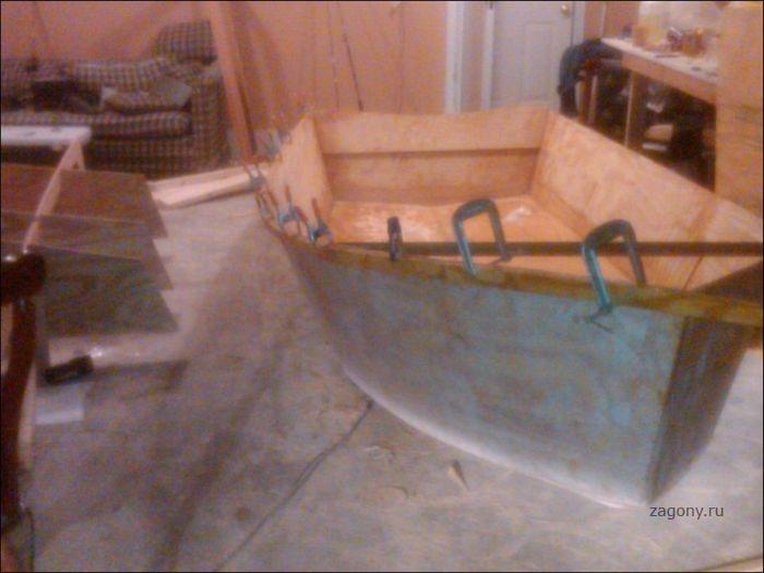 мини лодки для рыбалки своими руками
